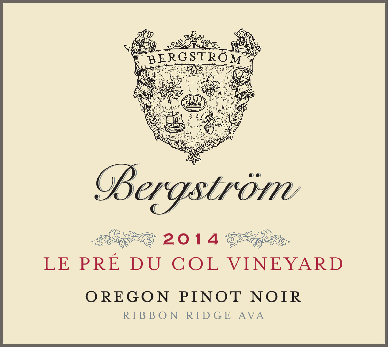 Product Image for 2014 Le Pre du Col Vineyard Pinot Noir