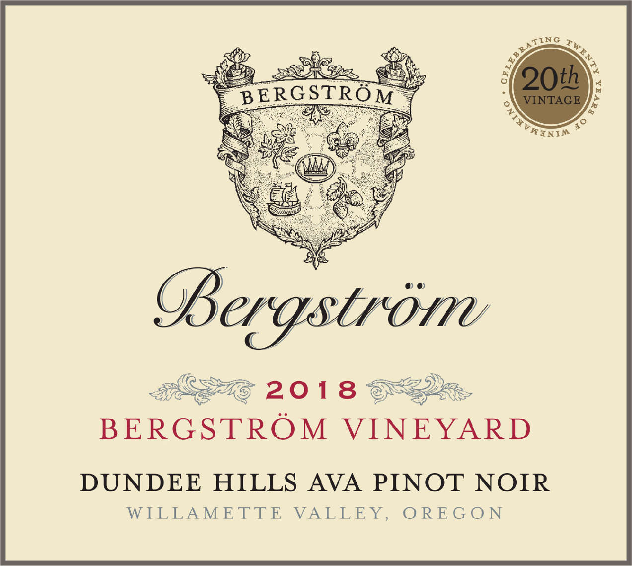Product Image for 2018 Bergström Vineyard