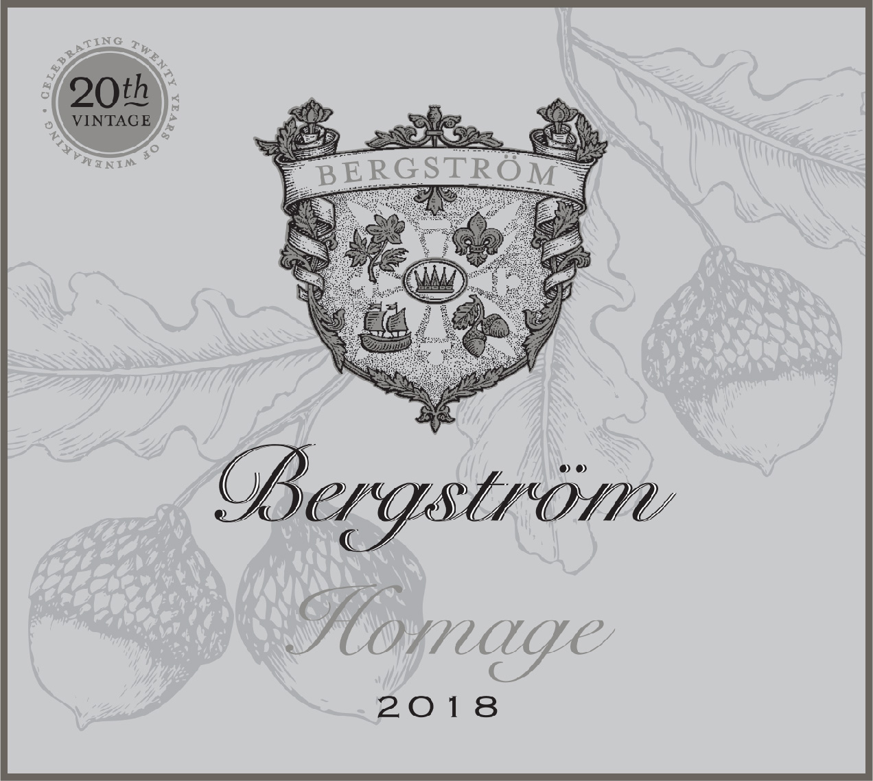 Product Image for 2018 Homage Pinot Noir