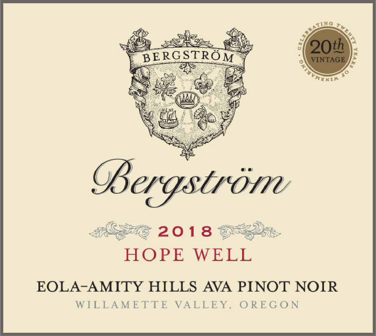Product Image for 2018 Hope Well Pinot Noir