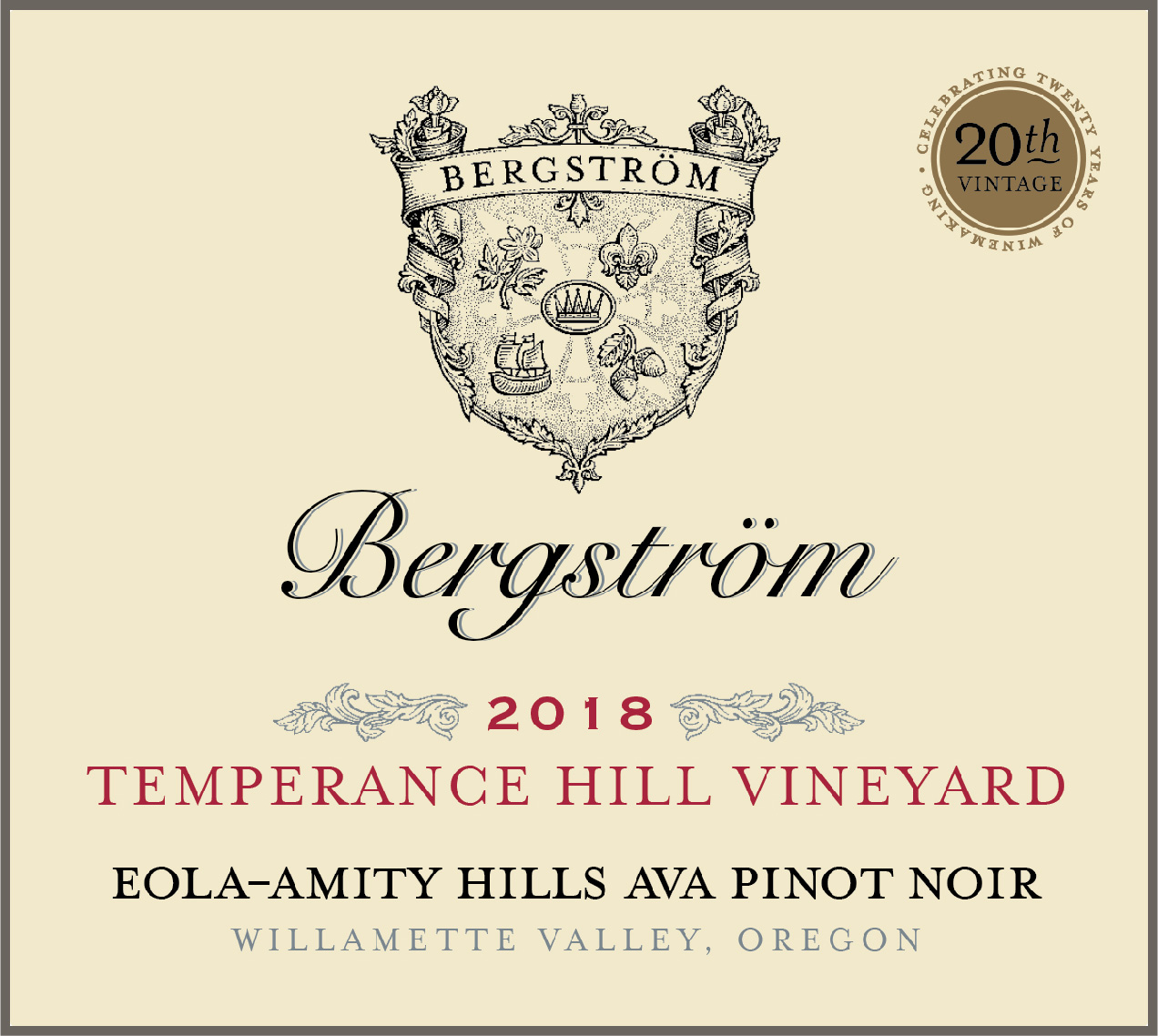 Product Image for 2018 Temperance Hill